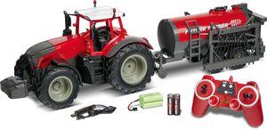 Carson 1:16 RC Traktor mit Tankwagen rot 2,4GHz 100% RTF 500907345