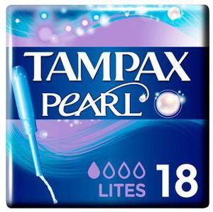 Tampax Pearl Lites Leger 18 Stück