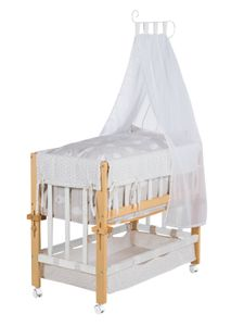 Roba Bicolor Stubenbett Babysitter 4 in 1 Kleine Wolke, 8952BCV201