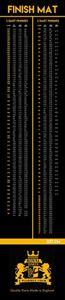 Royal Darts FINISH Dartteppich 300 x 60cm