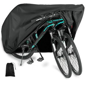 Fahrradabdeckung Fahrrad Regenschutz, 210D Oxford Stoff Abdeckplane Schutzhülle Fahrrad, XL Fahrradschutzhülle Fahrradabdeckung Wasserdicht Fahrradhaube Abdeckung Fahrrad (200x70x110CM)