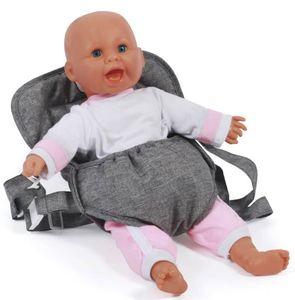 Bayer Chic 2000 782 76 Puppen-Tragegurt, Jeans Gre