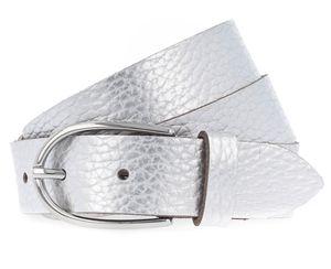 Vanzetti Glitter Radiance 30mm Metallic Belt W100 Silver Metallic