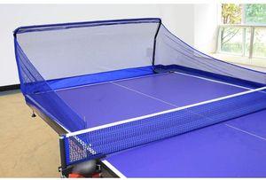 Tischtennis-Netze Tischtennisball Fangnetz Training   für Tischtennis Roboter, Ping Pong Auffangnetz für Ballmaschine  Auffänger Sammlernetz, Blau 150 * 38 * 60cm