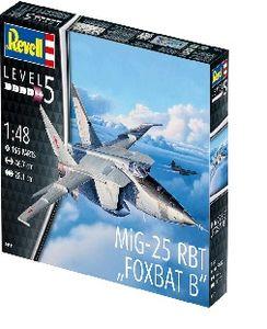 Revell 03931 - Modellbausatz, MiG-25 RBT, Foxbat B