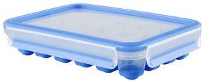 emsa Eiswürfeldose CLIP & CLOSE transparent blau
