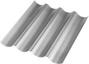 4 mulden Antihaft Baguette-Backblech Baguetteform , 38*33*2.5cm