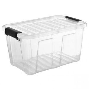 1 Behälter mit Deckel Container Plast Team HOME BOX 30 Liter - 1 Stück