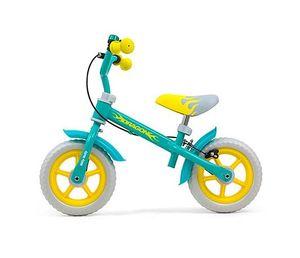 Milly Mally Laufräder 2 Räder Dragon 10 Zoll Junior Felgenbremse Mintblau