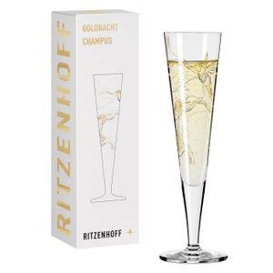 Ritzenhoff Champus Goldnacht Champagnerglas 08 Kolibri Marvin Benzoni 2020