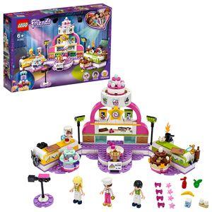 LEGO 41393 Friends Die große Backshow, Spielset mit Kuchen, Cupcakes und Stephanie Minipuppe für Kinder ab 6 Jahren