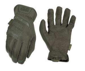 Taktische Handschuhe Mechanix Fast Fit, Innenhand aus synthetischem Leder, elastisch in beide Richtungen, Größe M