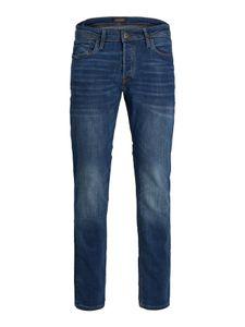 Herren JACK & JONES Jeans TIM Straight Legs Slim Fit Flat Front TIM ORIGINAL, Farben:Dunkelblau-2, Größe Jeans:29W / 32L