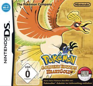 Pokémon Heart Gold -Goldene Edition