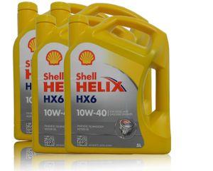 Shell Helix HX6 10W-40 4x5 Liter