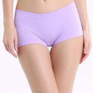 Damen Unterwäsche Sexy Quarter Hose Slim Fit Nahtlose Unterhose Sicherheitshose HUW90705215
