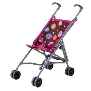 knorr toys Puppenbuggy Sim - Brown Splash; 12613