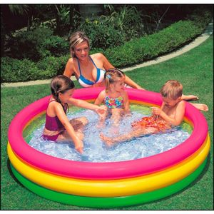 Intex 57412NP Intex 3-Ring-Pool Sunset Glow 114x25