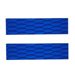 2 Stück EVA Rutschfeste Skimboard Traction Pad Bar Griff SUP Surfbrett Farbe Blau