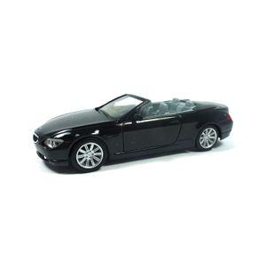 Herpa 023245-002 BMW 6er Cabrio schwarz Maßstab 1:87