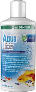 Dennerle Aqua Elixier - Wasseraufbereiter mit Moringa-Extrakt, für fischgerechtes Aquarienwasser
