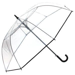 Regenschirm Transparent Durchsichtig Golfschirm Groß XXL Hochzeit Partnerschirm