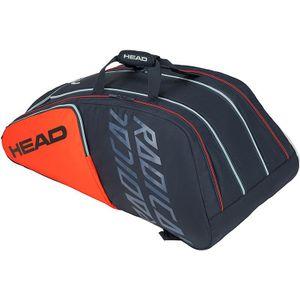 HEAD Radical 12R Monstercombi Tennistasche Grau Orange