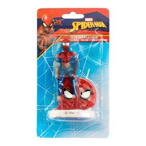 Dekora - Spidermann -  Geburtstagskerze 3D -  ca. 9cm