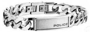 Police Edelstahl Herren Armband PJ25485BSS-01 Revenge