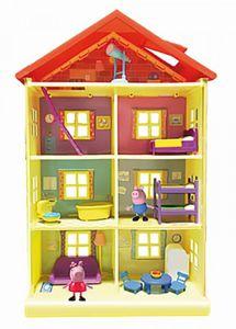 Peppa Pig Peppas Traumhaus 56cm hoch 4 Stockwerke 7 Zimmer 2 Figuren PEP0757