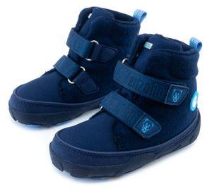 Affenzahn Winter-Boots MIDBOOT WOOL BÄR gefüttert in blau
