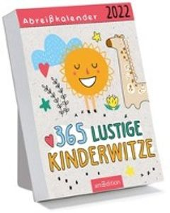 Abreißkalender 365 lustige Kinderwitze 2022