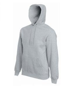 Classic Hooded Sweat - Farbe: Heather Grey - Größe: L