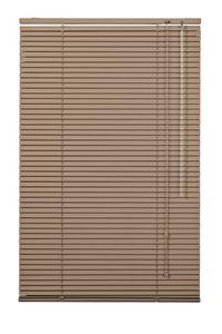 Lichtblick Jalousie Aluminium Braun, 90 cm, 90 cm x 160 cm (B x L) AJ.090.160.18