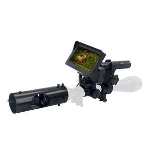 HD720P 3MP Videoaufzeichnung Nachtsichtgeraet Glanz und Infrarot-Teleskop Nachtsichtinstrument Nachtsichtgeraet mit Taschenlampe Nachtsichtgeraet