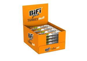 BiFi Turkey Roll 24 x 45 g Salami im Teigmantel Snack