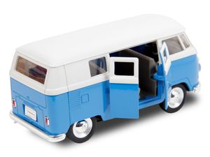 Out of the Blue Modellauto mit Rückziehmotor, VW T1 Bus 1963