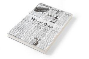 HENDI Fettresistendes Papier Zeitungsdruck 250x200 mm