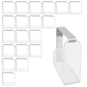 20 Stück Edelstahl Tischtuchklammer Tischdecken klammern Tisch Tuch Halter Decke