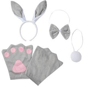 dressforfun Accessoires-Set Hase - Kinder