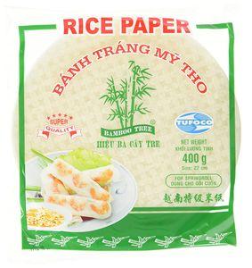 Reispapier 22cm Bamboo Tree Sommerrolle Banh Trang My Tho Rice Paper