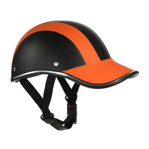 Motorradhelm Half Face Baseball Cap Style mit Sonnenblende