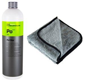 KOCH CHEMIE Po Pol Star Textilreiniger Lederreiniger 1 L & P4C Mikrofasertuch