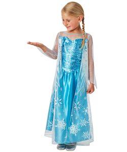 Rubies Kinderkostüm Disney Prinzessin Elsa, die Eiskönigin L (7-8 Jahre)