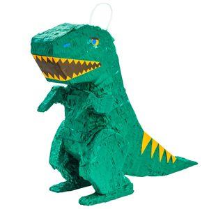 Fax Potato Dinosaurier Pinata | Party-Zubehör Dekoration | 48 x 13.5 x 41.5cm - Grün