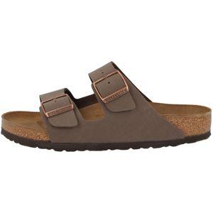 BIRKENSTOCK Arizona Damen Pantoletten Mocca Schuhe, Größe:39