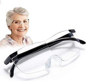 2 teile/satz Vision Lupen Brillen 160% Vergrößerung Presbyopie Geschenk Für Nadel DIY handmake nähen werkzeug