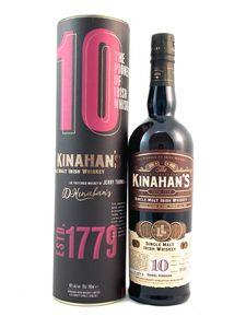 Kinahan's 10 Jahre Irish Single Malt Whiskey 0,7l, alc. 46 Vol.-%