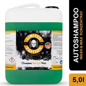 5L Auto Shampoo Wash & Wax, reinigt intensiv, duftet frisch und bringt Glanz auf den Lack