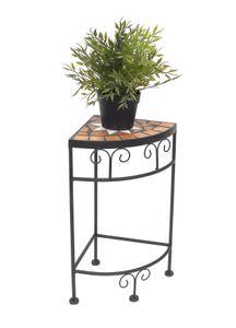 DanDiBo Blumenhocker Merano Mosaik 12013 Blumenständer 42 cm Hocker Eckregal Tisch